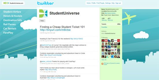 @StudentUniverse