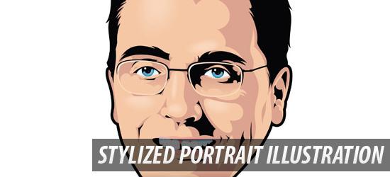 Stylized Portrait Illustration