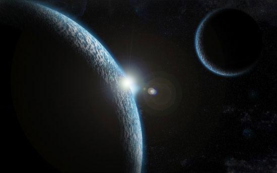 Create a smaller planet
