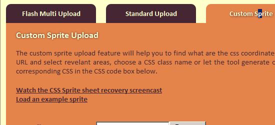 CSS Sprites - Online CSS Sprite Builder