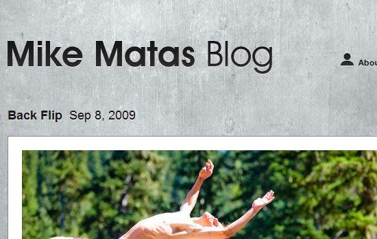 Mike Matas Blog