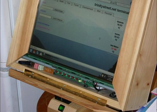 Wooden Touchscreen Terminal