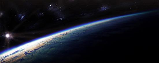 Dawn on Earth