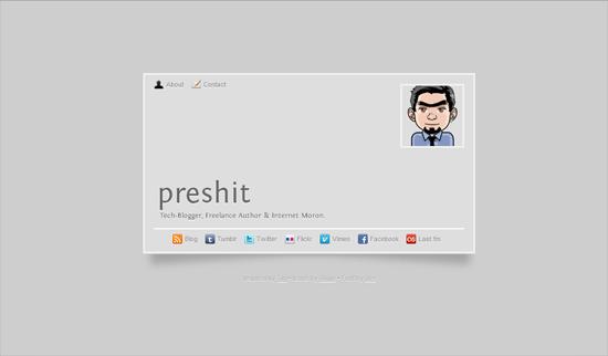 preshit's card