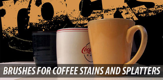 Create Photoshop Brushes for Coffee Stains and Splatters