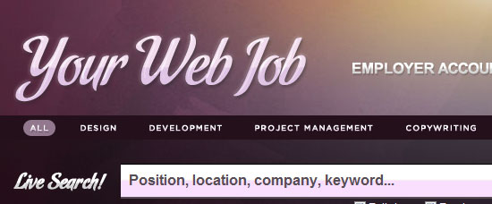 Your Web Job
