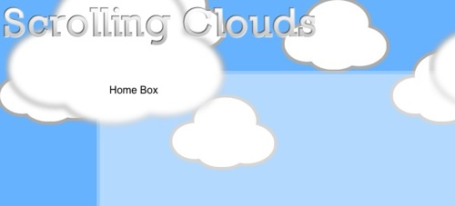 Parallax Scrolling Background