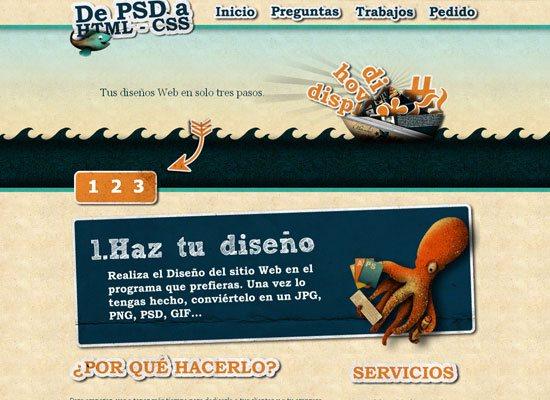 De PSD a HTML