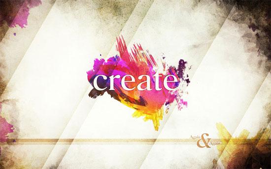 Create - Wallpaper