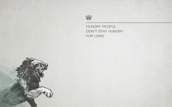Hungry Desktop Wallpaper