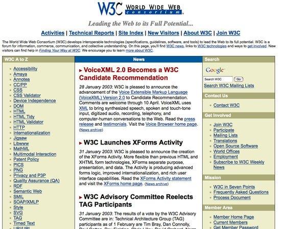 W3C (2003)