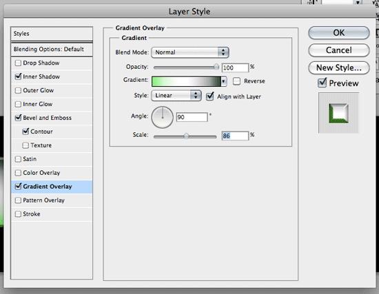 Add layer styles