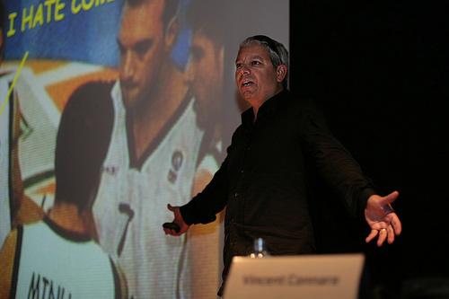 Vincent Connare presenting
