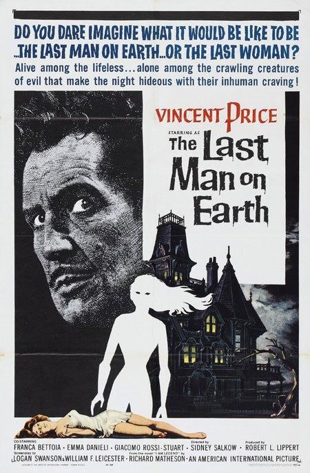 Last Man on Earth / Omega Man / I Am Legend