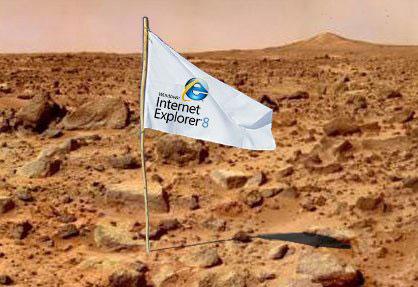 IE on Mars