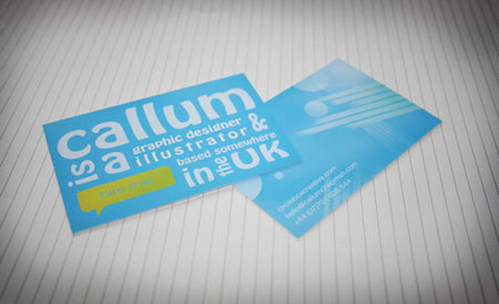 How to Create an Abstract Business Card in Photoshop