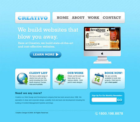 How to Create a Clean Web 2.0 Style Web Design in Photoshop
