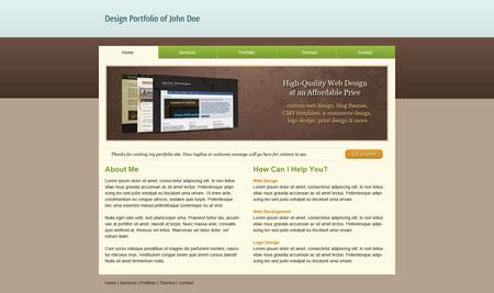 Design a Clean Portfolio Site in Photoshop