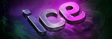 Design a Slick 3D Ice Text Effect