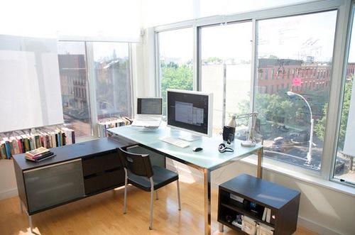 The remote designer's office