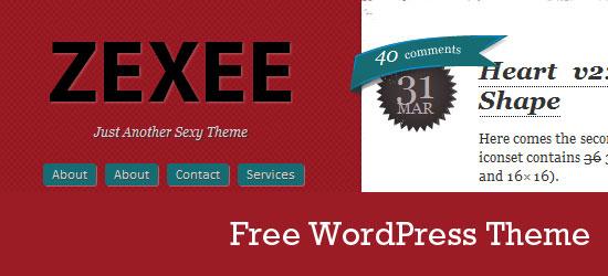 Free WordPress Theme: Zexee