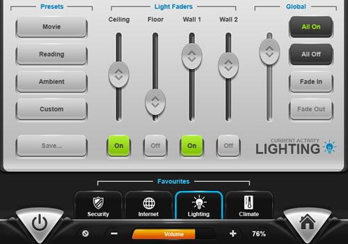 GUIFX Practice Touchscreen UI