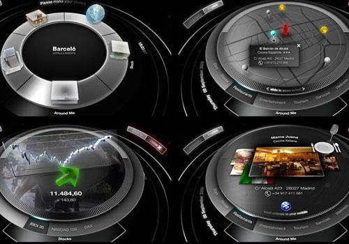 interactive 3d touch screen
