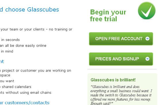 Glasscubes