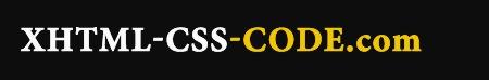 XHTML-CSS-CODE