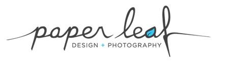 Paper Leaf Design & Photography Blog