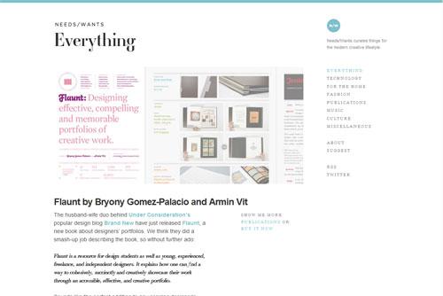 Needs/Wants Magazine