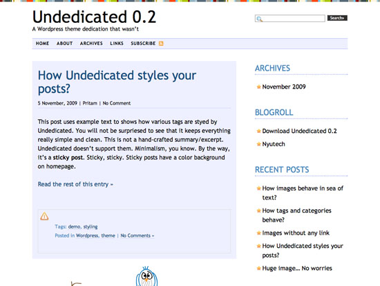 Undedicated