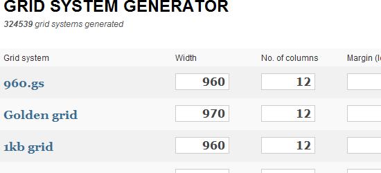 Grid System Generator