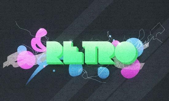 Create an Abstract Retro-Pop Wallpaper