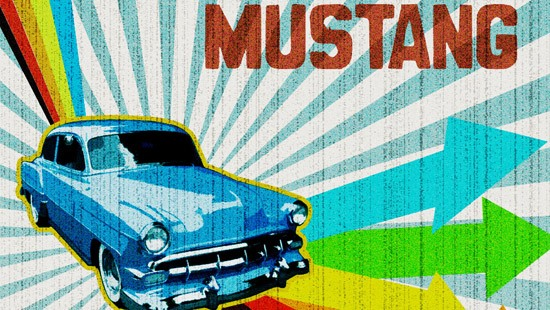 Retro Lighting - Ford Mustang