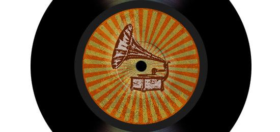 Create a Vinyl Record with Retro Photo Sticker in Photoshop