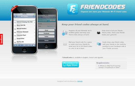 FriendCodes