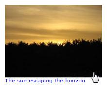 Basic image caption using generated content
