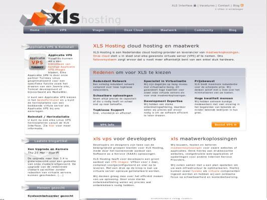 XLS hosting