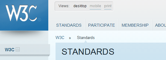 More Appreciation for Web Standards