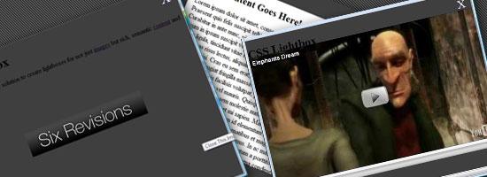 Semantic CSS Lightboxes