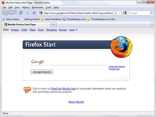 Firefox Portable Edition