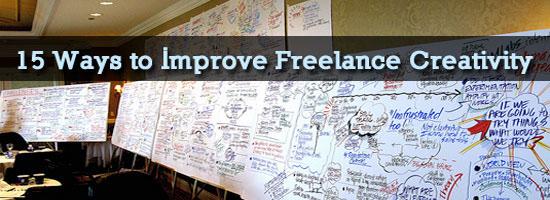 15 Ways to Improve Freelance Creativity