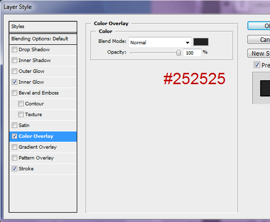 Create the Active Navigation Menu Link Background
