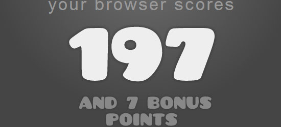The HTML5 test