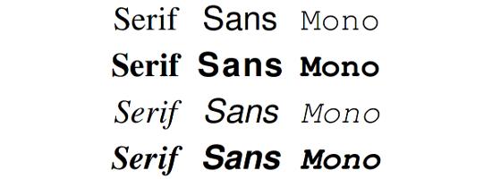 GNU Free Fonts