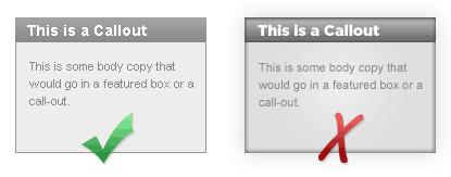 Callout box