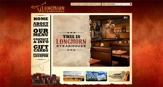 Longhorn's web design
