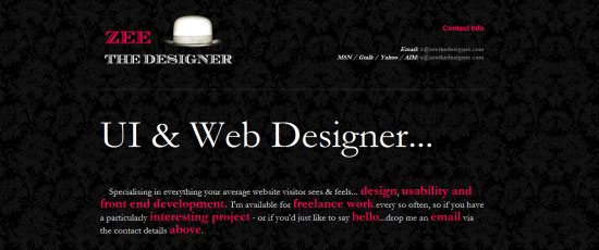 Zee the Designer