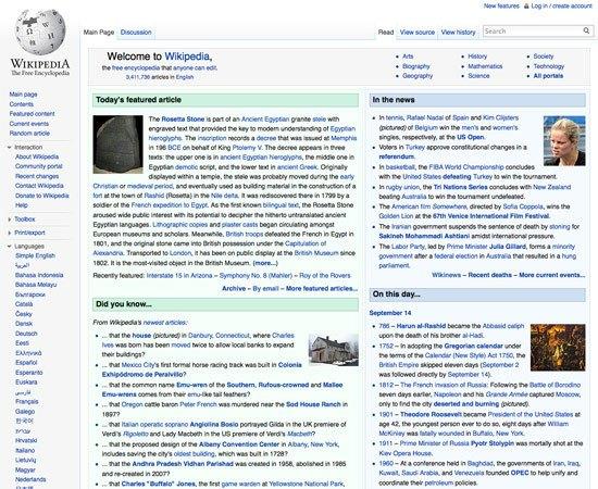 High-Content, User-Driven Website